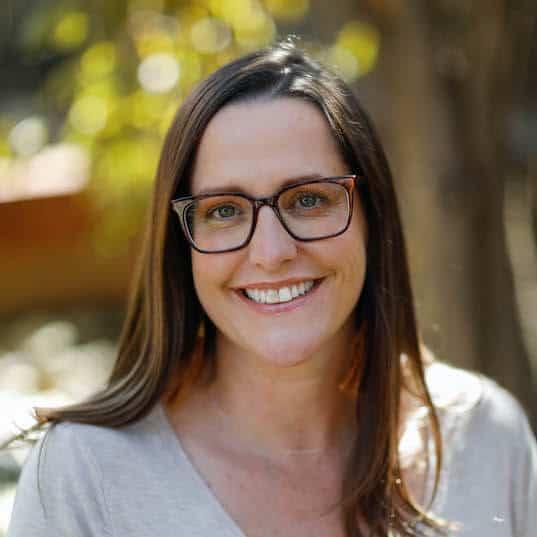 Photo of Rebecca Schlegel, certified pediatric sleep consultant.