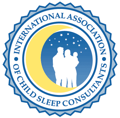 Image showing child sleep consultant certification logo.