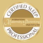 Image showing certification logo for certified sleep coach program.