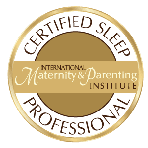 Image showing certification logo for certified sleep coach program.