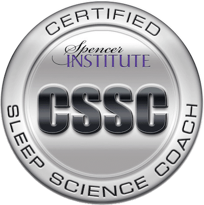 Image showing sleep science coach certification.