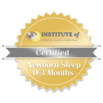 Image showing logo for newborn sleep consultant certification