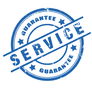 service guarantee logo